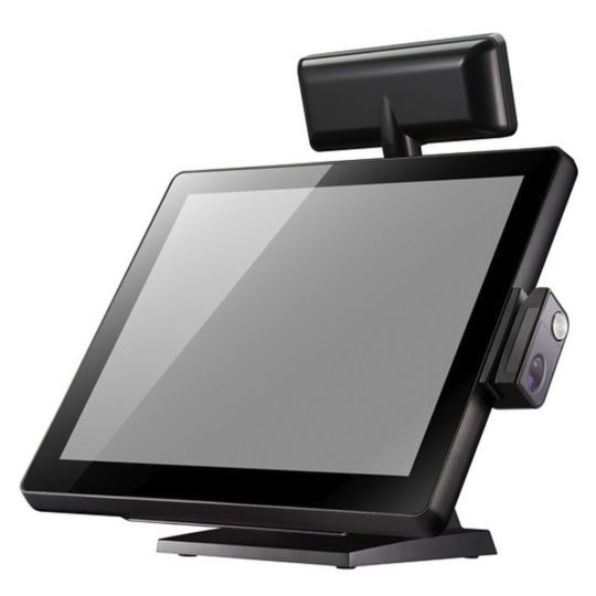 "VariPOS 715S - Celeron + Windows system with 15"" display, black color"